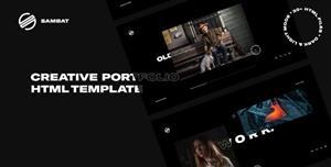 TweenMax+CSS3摄影师设计师网站模板