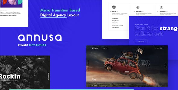 创意全屏css3动画效果网站模板源码下载