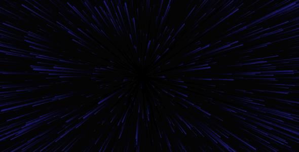 canvas星际穿越h5动画背景特效源码下载