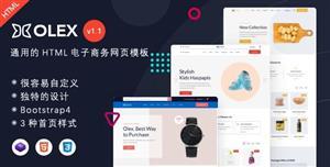 通用的HTML5电子商务购物网页模板