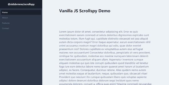 单页滚动跳转导航scrollspy.js源码下载