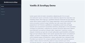 单页滚动跳转导航scrollspy.js