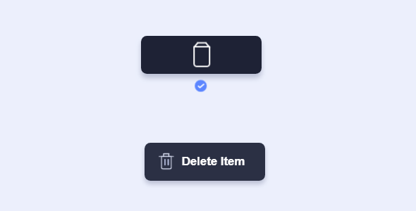 svg删除按钮动画状态效果