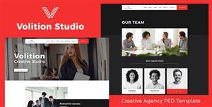 创意咨询工作室网站模板响应式布局