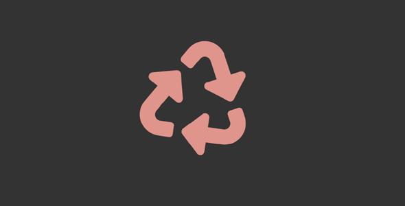 SVG垃圾回收标志旋转loading特效