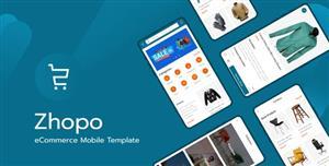 移动手机端app电子商务模板