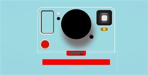 CSS绘制的照相机样式
