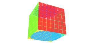 gsap.js立方体旋转展示动画特效