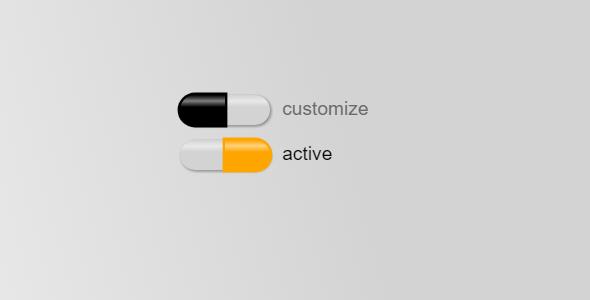 css胶囊样式选择按钮