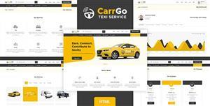共享出租车业务网站前端HTML模板