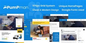响应设计家庭维修服务HTML5模板