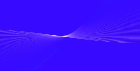 很酷的波浪线canvas动态特效