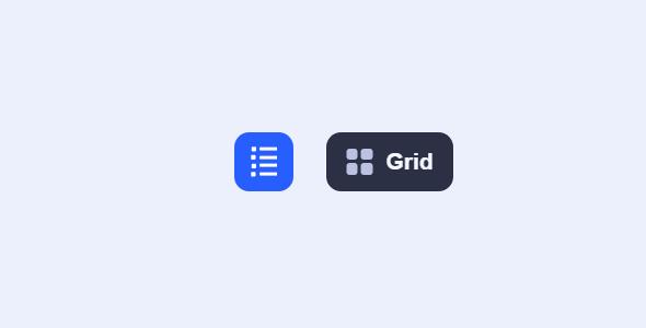 Grid和List布局按钮切换特效