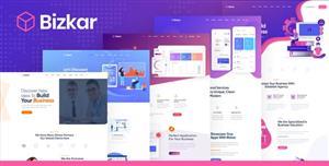 创意互联网公司网站插画风格模板