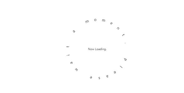 js+css动态文字loading特效