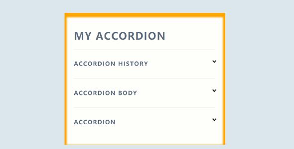 accordion手风琴点飞入动画特效代码