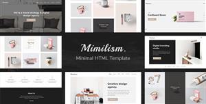 设计师摄影工作室网站作品集模板