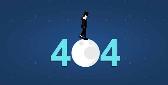 MJ漫步月球404页面