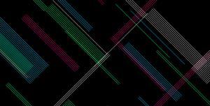 SVG生成对角线的艺术动画