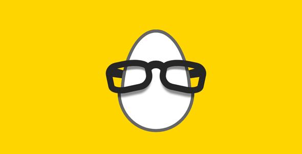 css一颗蛋戴眼镜