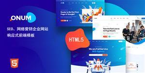 现代设计网络营销服务企业网站模板