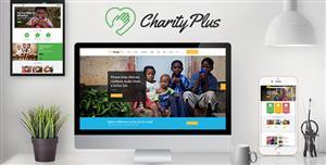 响应设计慈善筹款网站HTML5模板