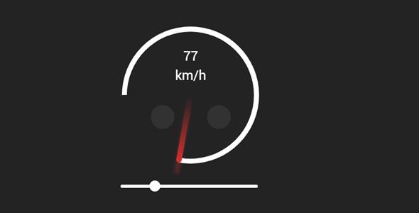 jquery仪表盘圆圈加载插件