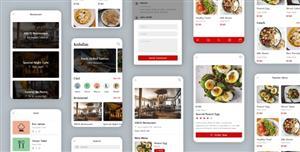 h5餐饮行业手机前端页面模板