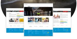 多用途企业网站响应式模板