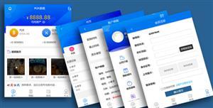 手机端虚拟货币资产管理系统模板