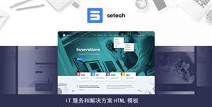 灵活的IT服务网络公司网站模板