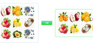 jQuery图片重复数组筛选特效