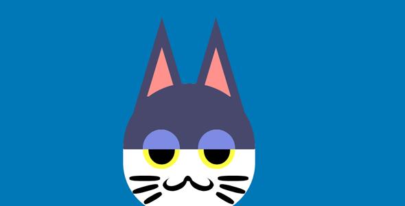 css代码画的动物头像源码下载