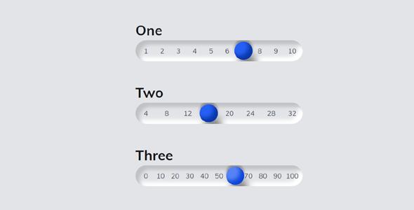 input range拖拽范围选择