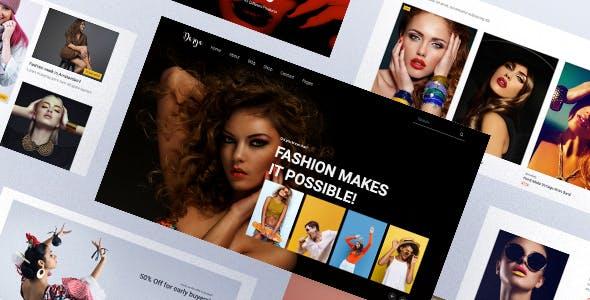 简约时尚购物电子商务HTML模板源码下载
