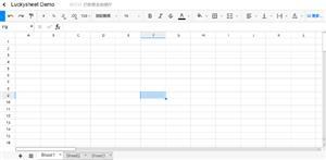 js实现在线Excel电子表格web源码