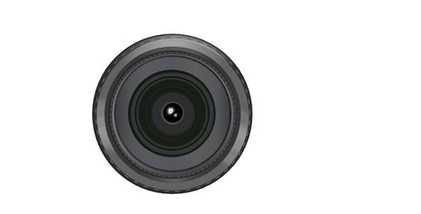纯css代码画的相机镜头