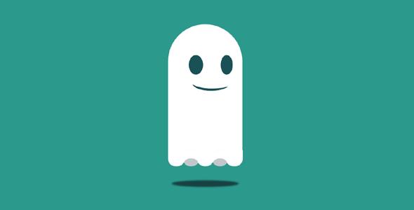 纯css3构造的幽灵动画特效代码源码下载