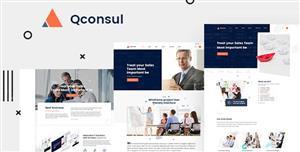 大气HTML5商务型企业网站模板