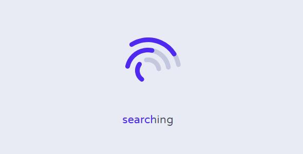 wifi搜索svg动画loading特效源码下载