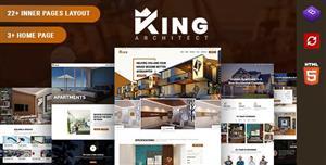 大气HTML5室内装饰设计网站模板