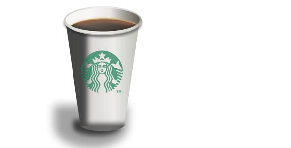 svg+css绘制的星巴克咖啡杯源码下载