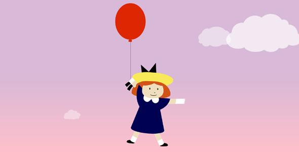 气球漂浮css3动画特效源码下载