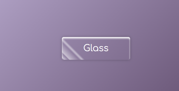 css玻璃样式按钮特效源码下载
