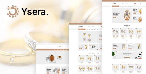 简约强大的珠宝店HTML电商模板