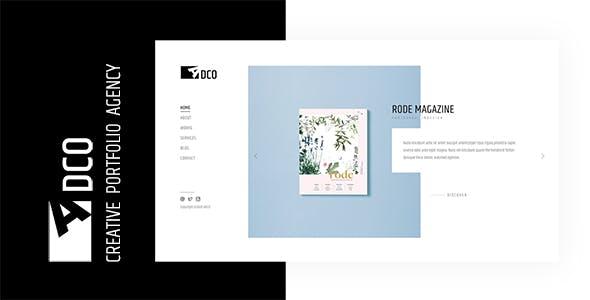 创意作品项目展示网站模板源码下载