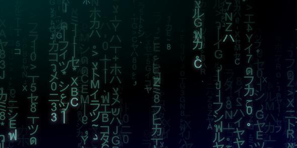 canvas数字雨网页背景动画特效源码下载