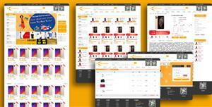 综合B2C采购电商购物商城网页模板