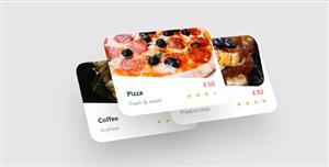 3D卡片堆叠图片网页特效