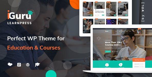 教育网站课程学习WordPress主题模板源码下载